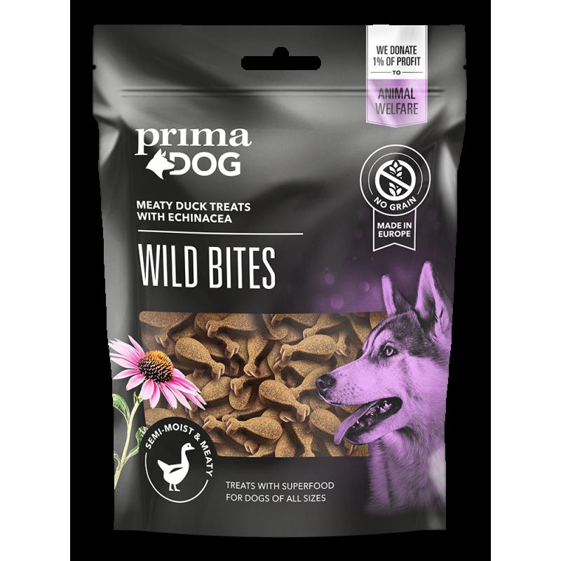 Primadog wild bites m and og echinacea - 150g