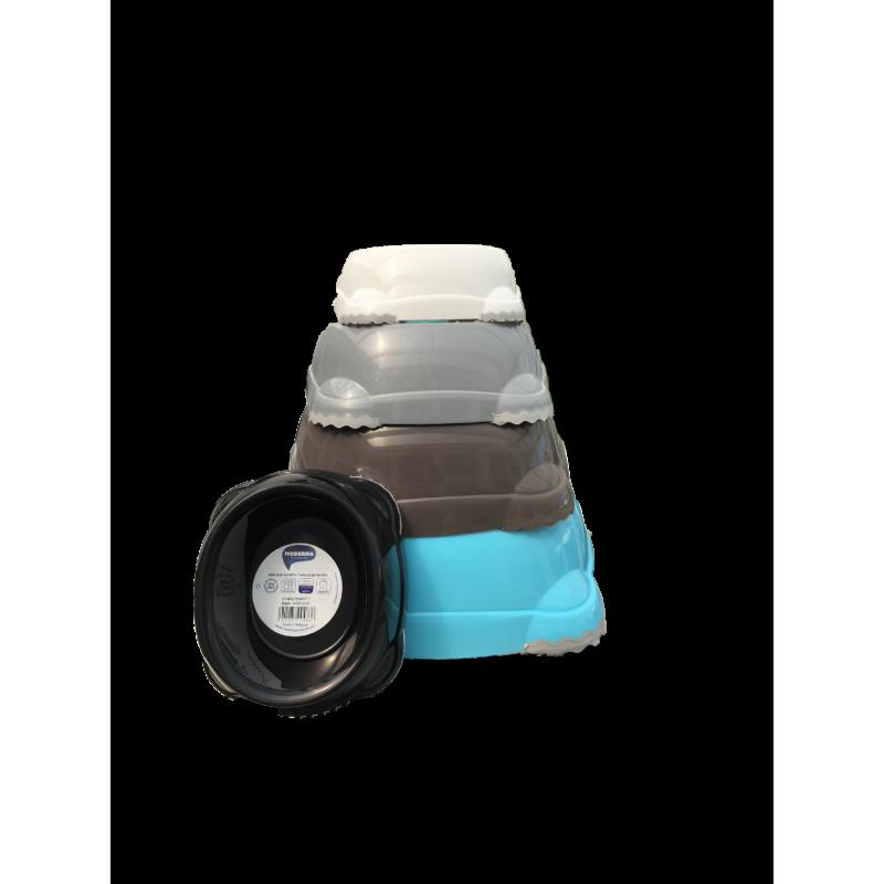 Smart skål 1248ml - sort
