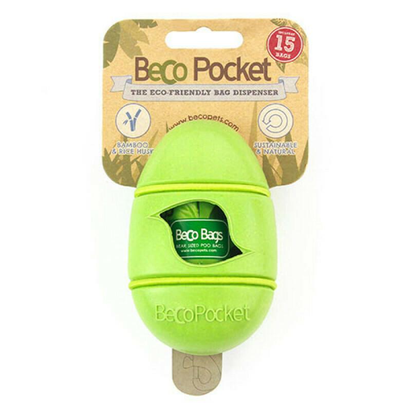 Beco Pocket dispenser inkl. 1 rulle 15poser