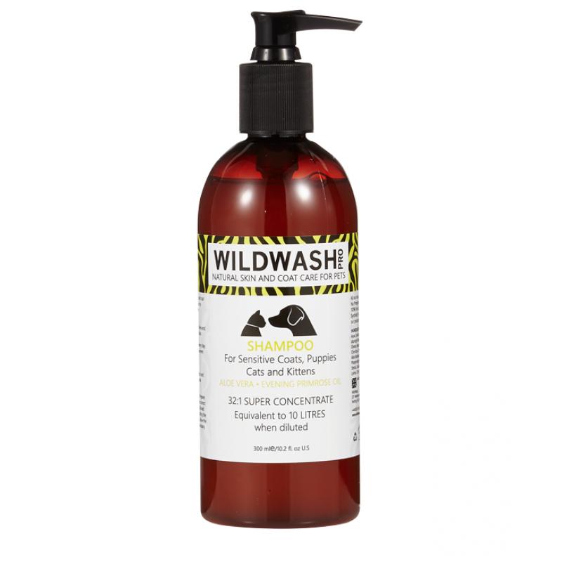 Wildwash Pro shampoo sensitive 300 ml