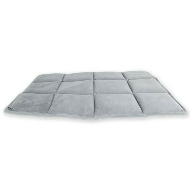 BeOneBreed Hundpude upturn grå - 120x75cm
