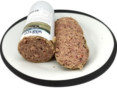 Whesco Super premium kornfri pølse med kylling 900 gr.