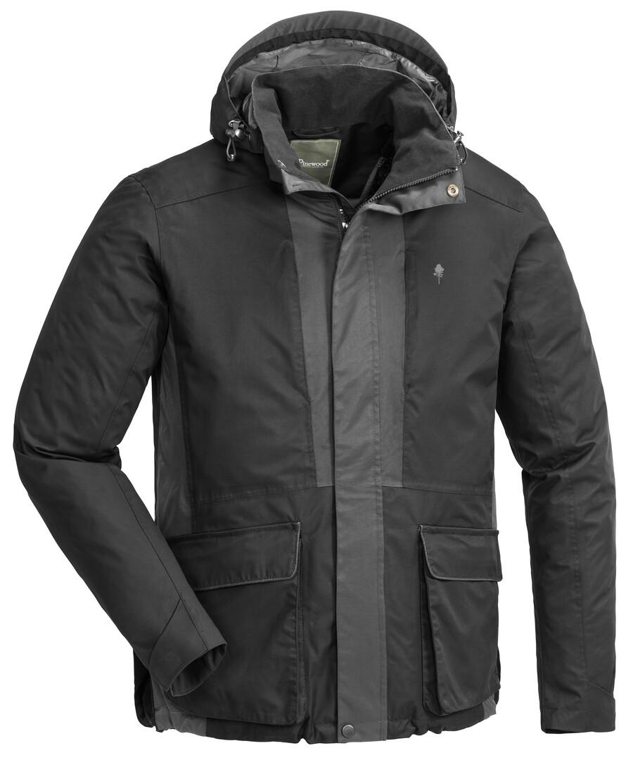 Pinewood hundesport jakke 2.0  - sort/mørk antracit