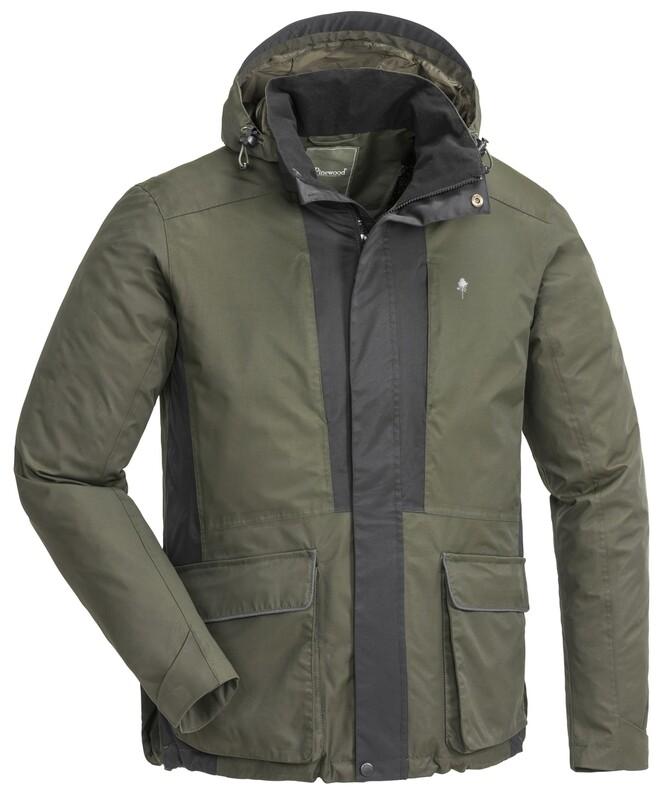 Pinewood hundesport jakke 2.0 - Mosgrøn/sort
