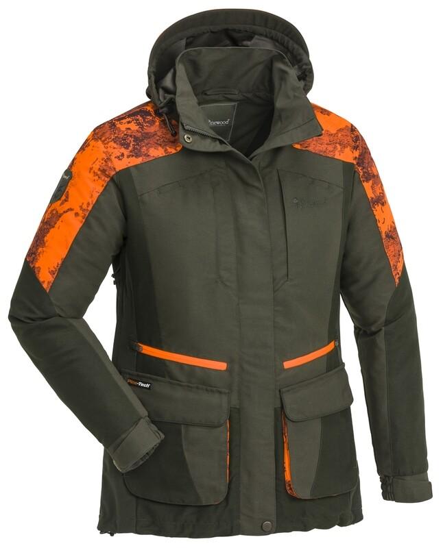 Pinewood Forest camou jagt jakke - Dame