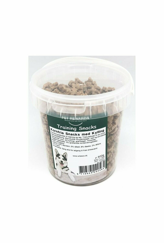Kornfri Snacks m kylling - 500 g