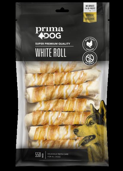 Primadog Hvid rulle med kylling - 550g
