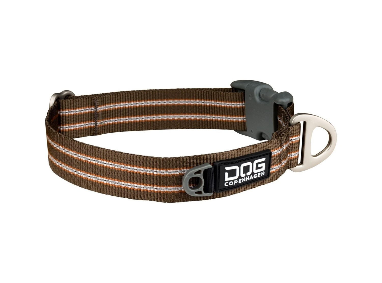 DOG Copenhagen Style halsbånd - Brun