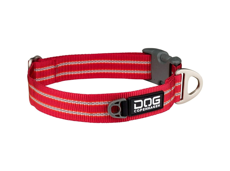 DOG Copenhagen Style halsbånd - Rød