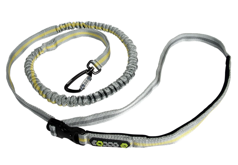 EQDOG Jogging Leash - grå/gul