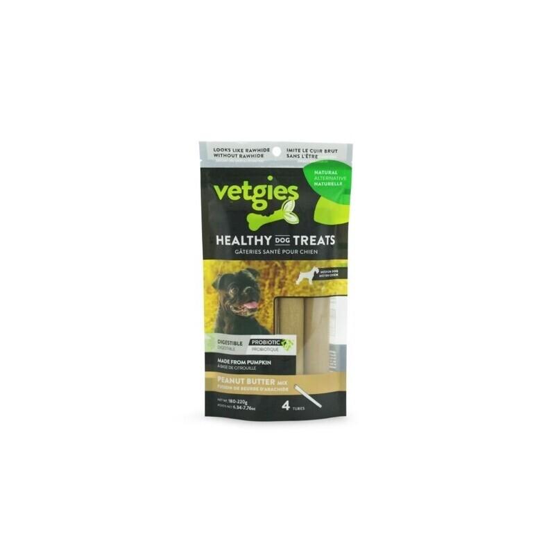 Vetgies fyldt stick peanutbutter - 4 stk