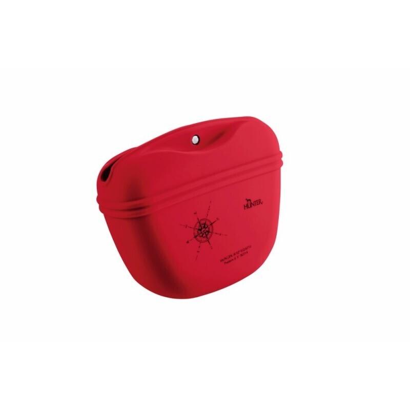 Hunter Silikone godbidstaske - rød