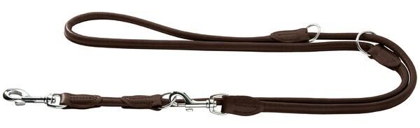 Hunter læderline elg 8/200 - mørkebrun