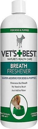 Vets Best Frisk ånde til hunde 500 ml.