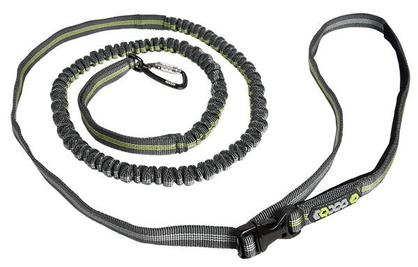 EQDOG Jogging Leash - antrazit/grøn