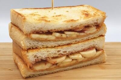 Peanut Butter, Jam & Banana