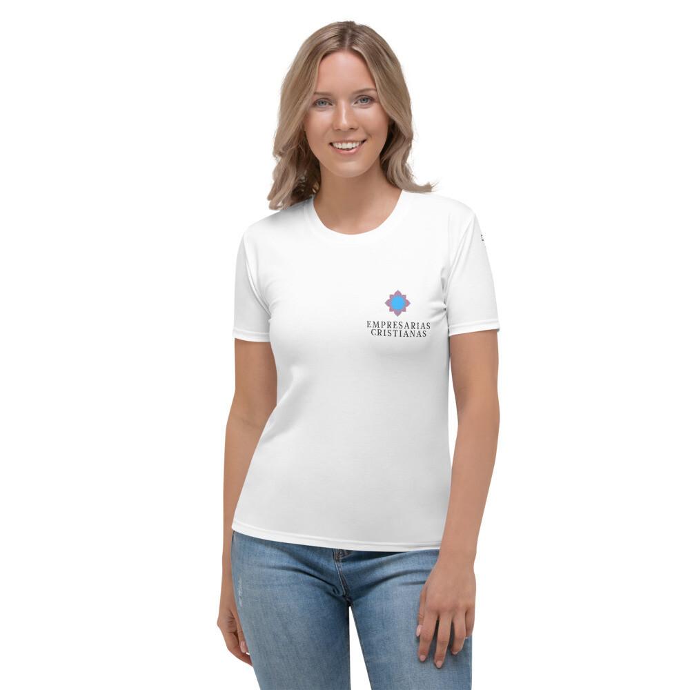 All-Over Print Women's Crew Neck T-Shirt