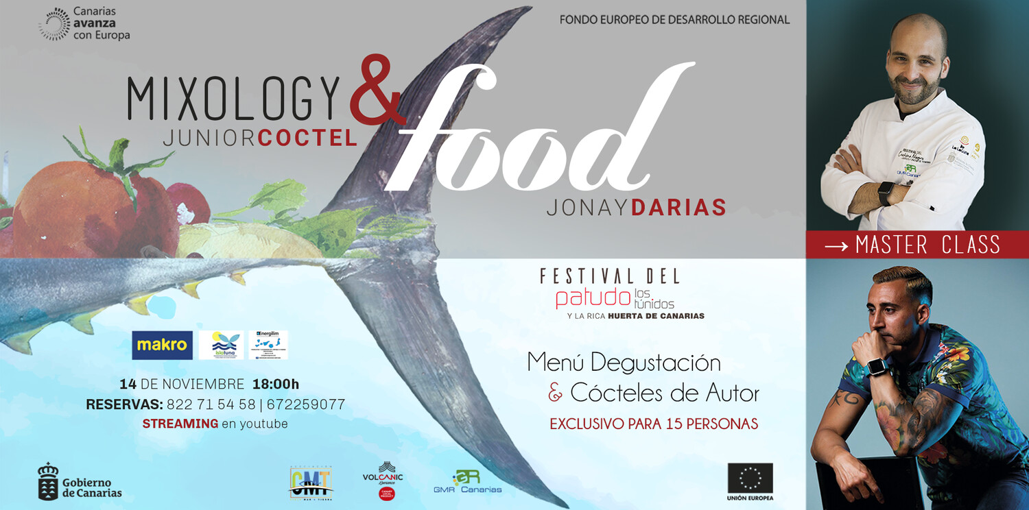 Mixology & Food, menú degustación con Show Cooking