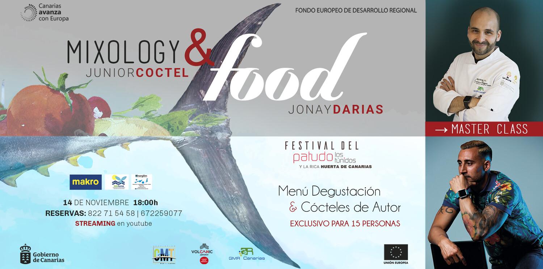 Mixology & Food, menú degustación con Show Cooking