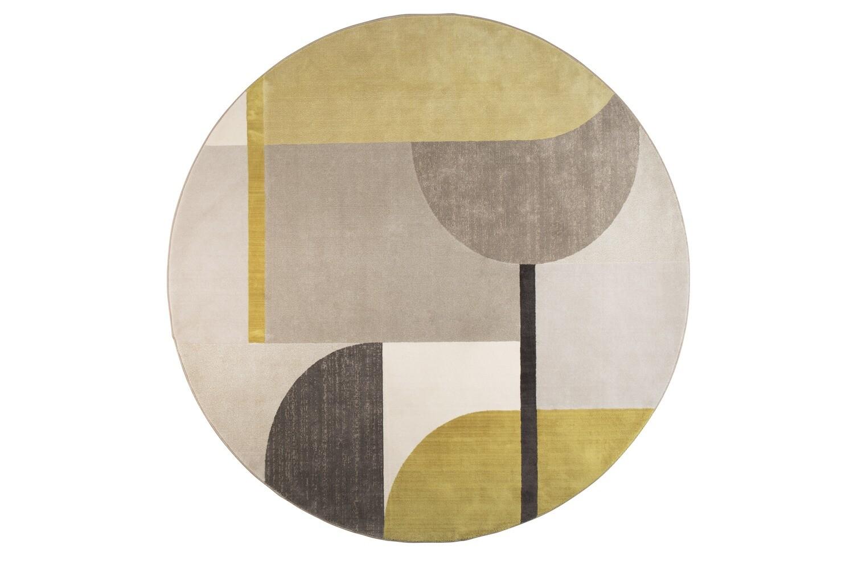 Carpet Hilton Grey / Yellow
