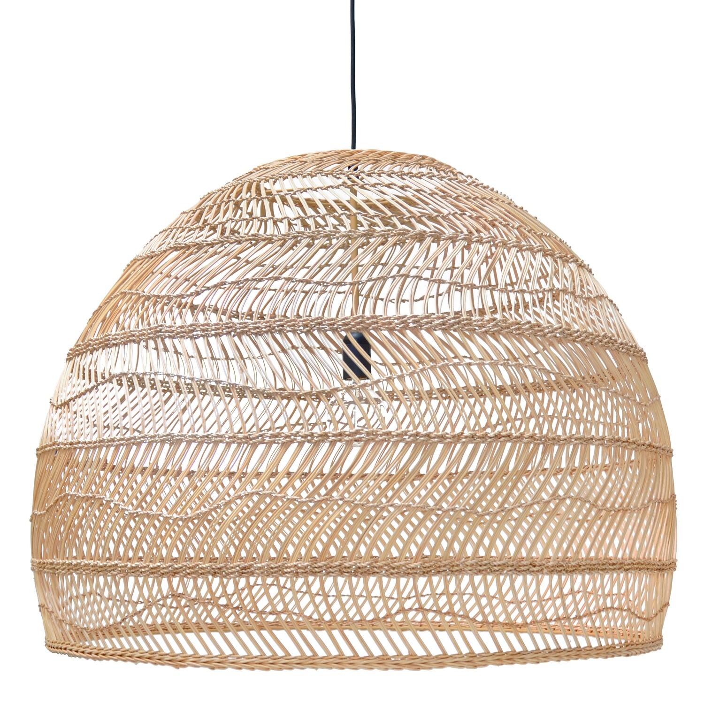 XL Wicker pendant lamp