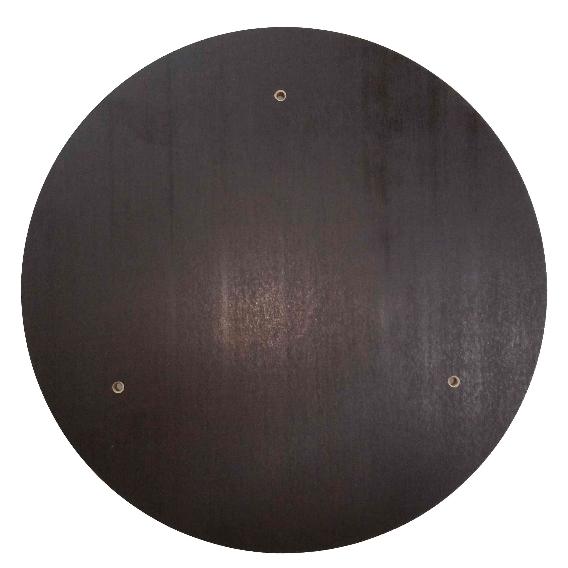 1x Wechselscheibe für ETS300-4 / ETS300-5 & ETS300-6, Holz-Siebdruck Ø305x12mm