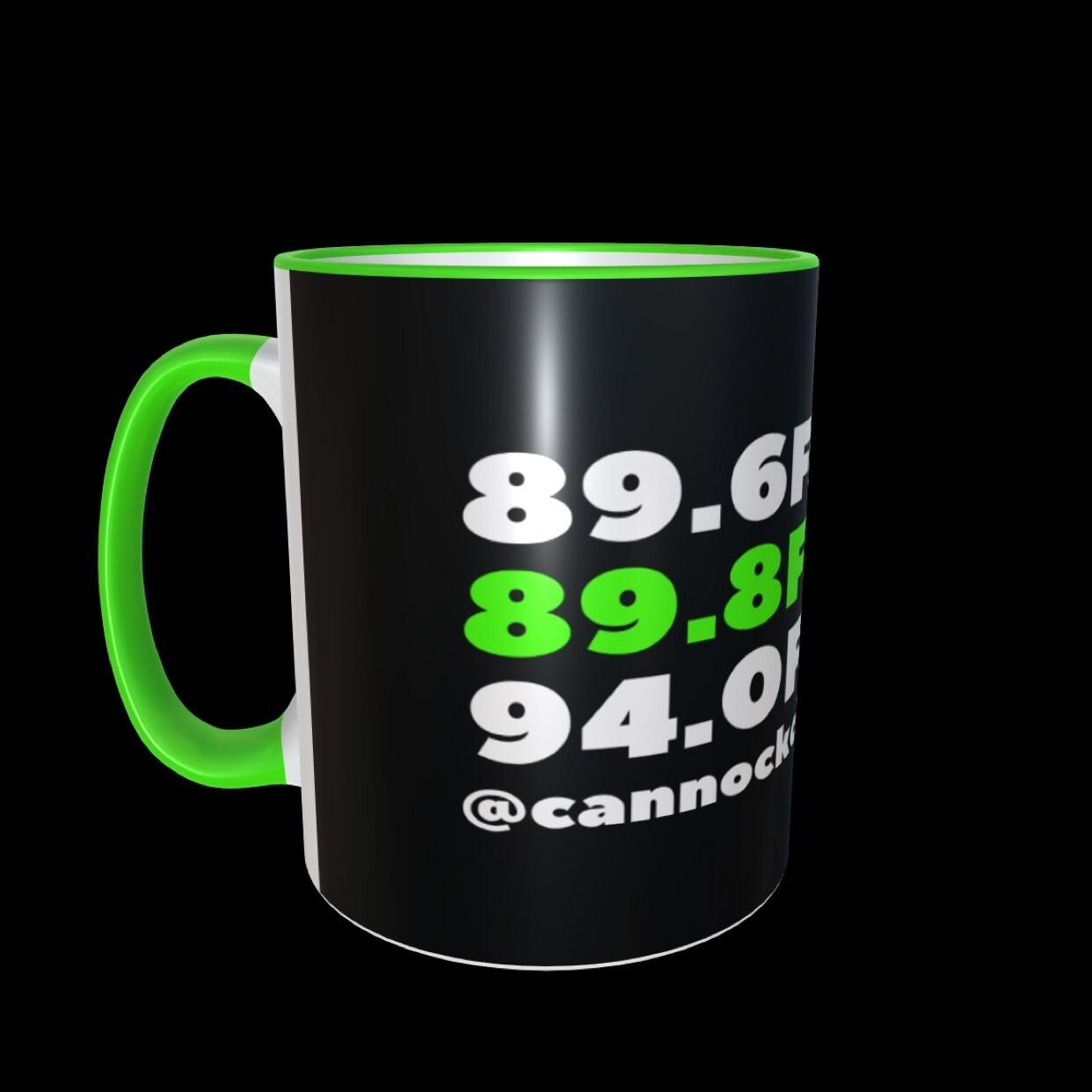 Black Cannock Chase Radio FM Mug