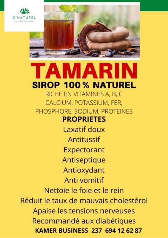 Sirop de TAMARIN