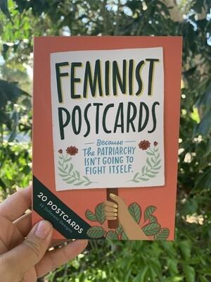 Feminist Postcards Book