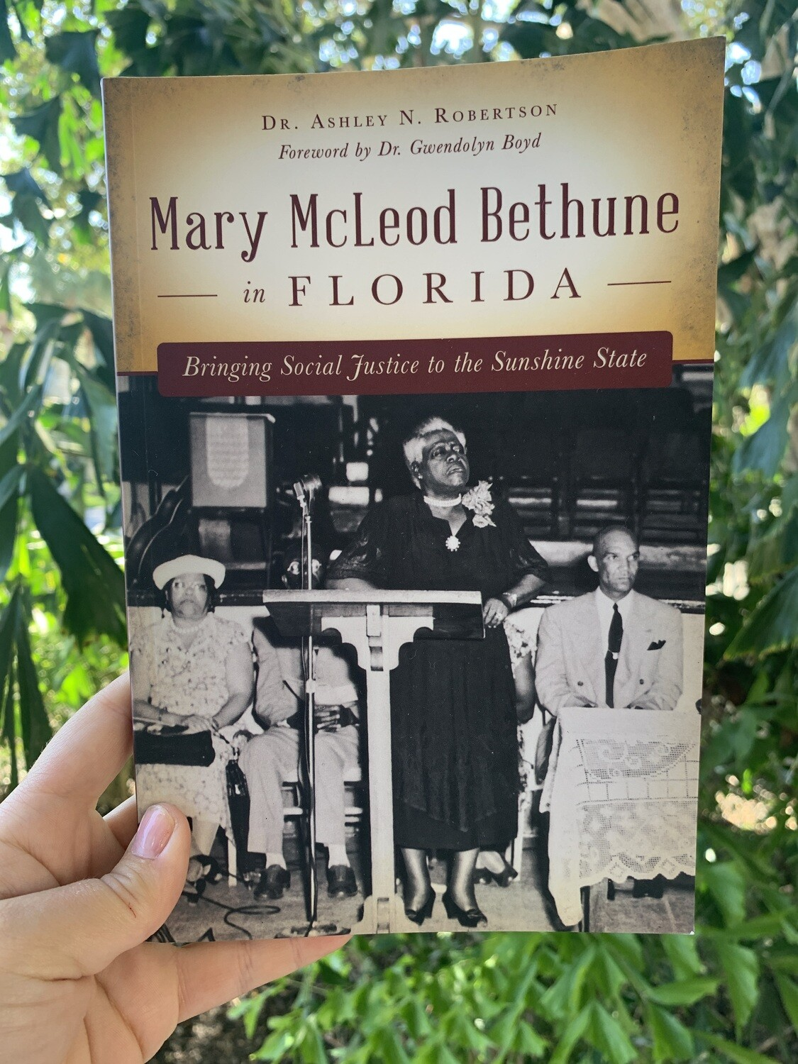 Marcy McLeod Bethune in Florida Book