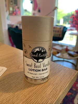 Lotion Bar - Sweet Basil Vanilla