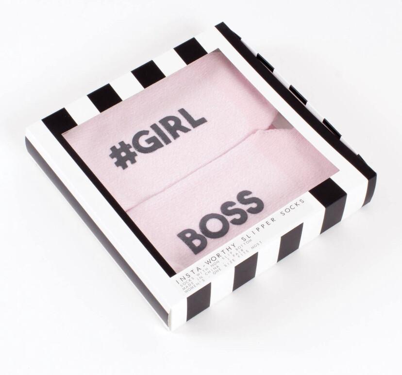 Girl Boss Cozy Socks
