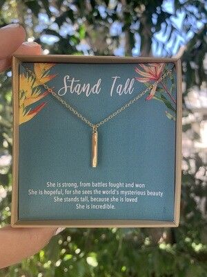 Stand Tall necklace