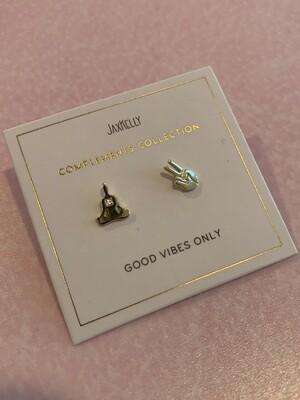 Zen complements earrings
