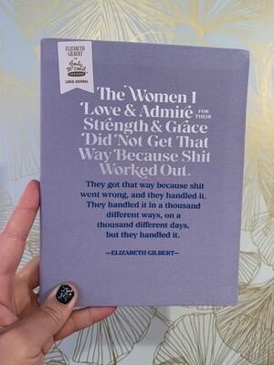 The women I love journal