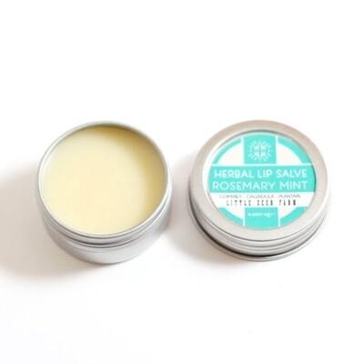 Herbal Lip Salve - Rosemary Mint