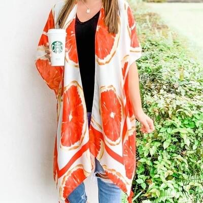Grapefruit Kimono
