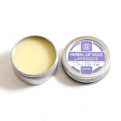 Herbal Lip Salve - Lavender