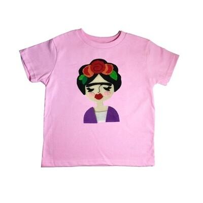 Pink Frida kids tee