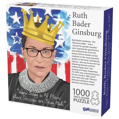 RBG puzzle 1000 pieces