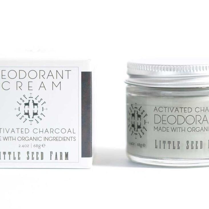 Little Seed Farm Charcoal Deodorant Cream