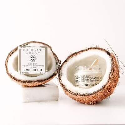 Coconut deodorant cream