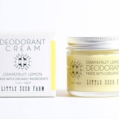 Grapefruit Lemon Deodorant Cream