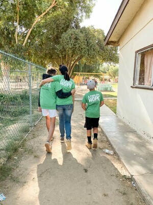 Security Fence Around Orphanage