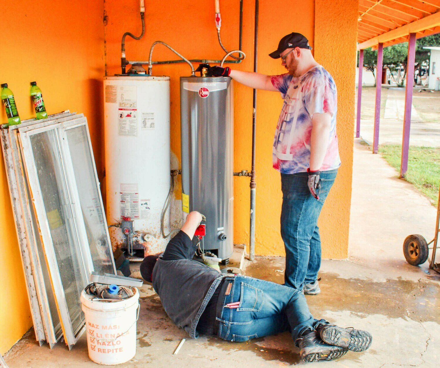 Replace Unsafe Water Heater