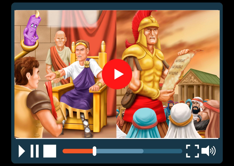 Chanukah Animated Video