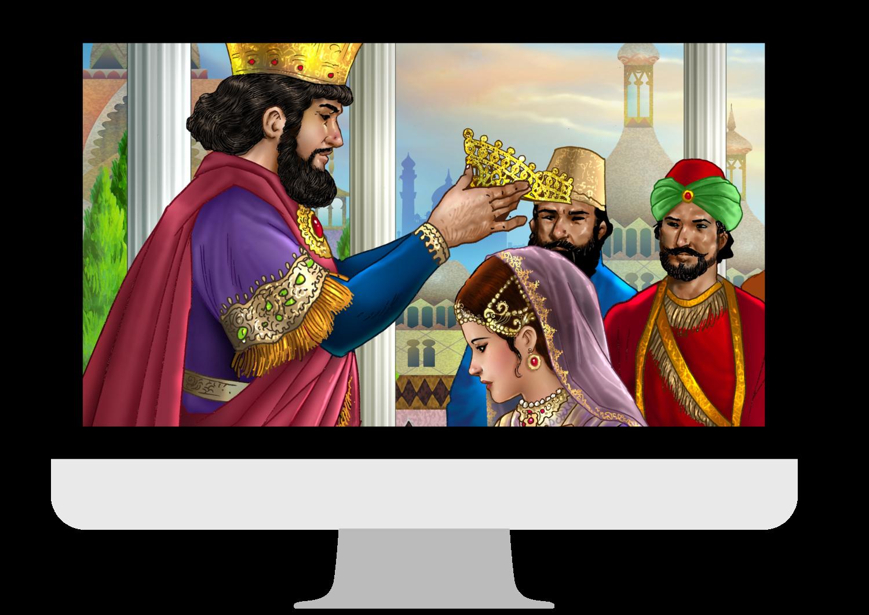 Virtual Purim Story