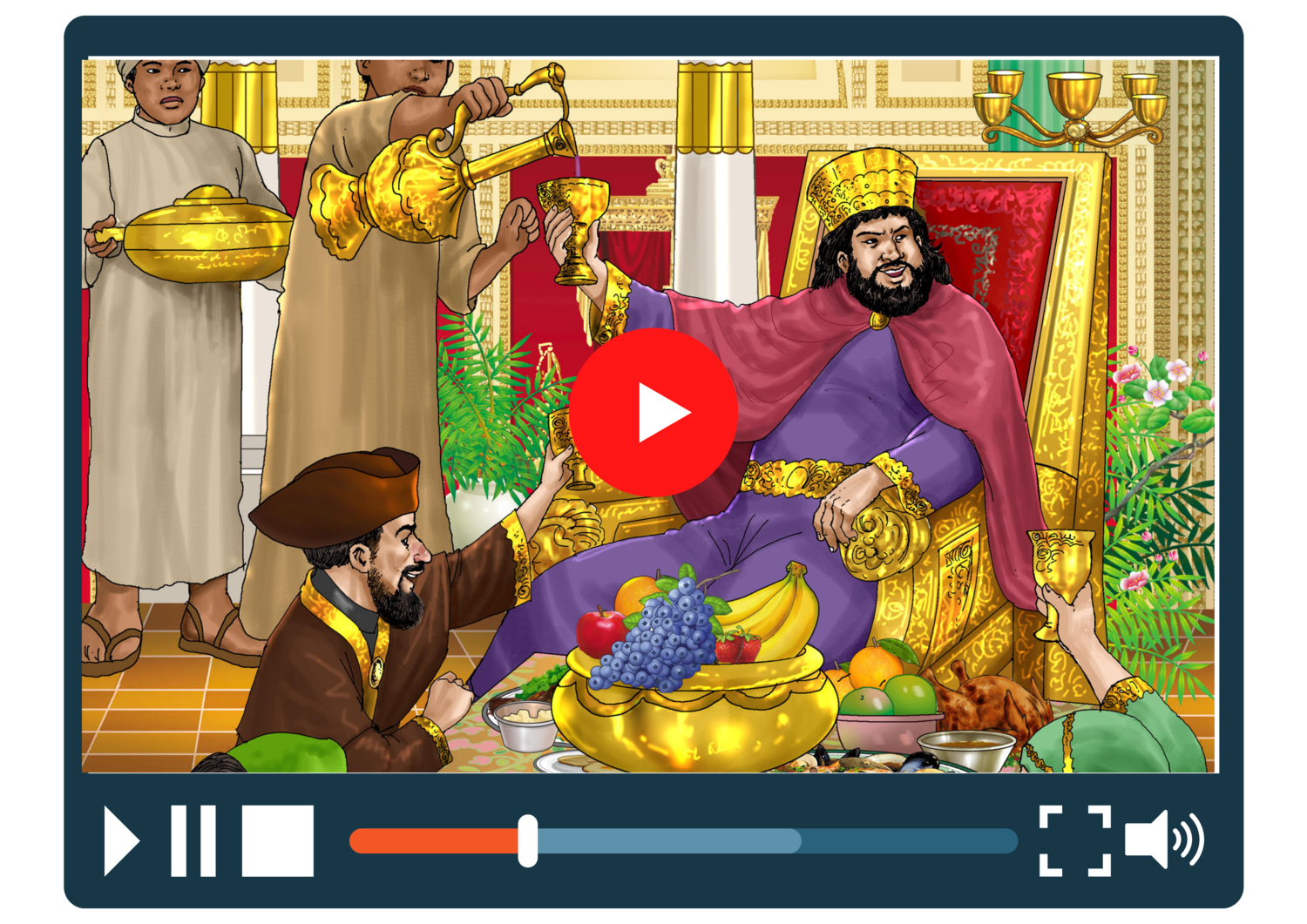 Purim Narrated Animation