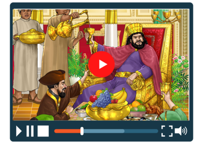 Purim Animated Video