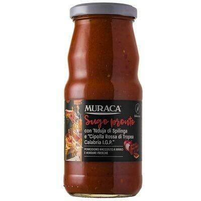 Muraca Sugo Pronto mit Nduja und Cipolla Rossa di Tropea Calabria